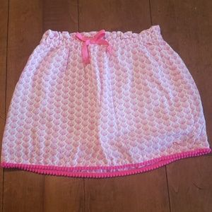 Vineyard Vines Pink Shell Skirt